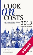 Cover of Cook on Costs 2013 (eBook)