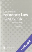 Cover of Butterworths's Insurance Law Handbook (Book & eBook Pack)