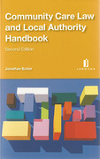 Cover of Community Care Law and Local Authority Handbook