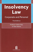 Cover of Insolvency Law: Corporate and Personal