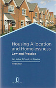 Cover of Housing Allocations and Homelessness: Law and Practice