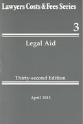 Cover of Lawyers Costs & Fees: Legal Aid