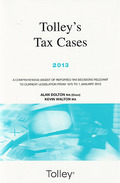 Cover of Tolley's Tax Cases 2013