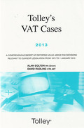 Cover of Tolley's VAT Cases 2013