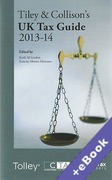 Cover of Tiley & Collison's: UK Tax Guide 2013-14 (Book & eBook Pack)