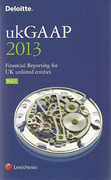 Cover of Deloitte ukGAAP 2013 Financial Reporting For UK Unlisted Entities