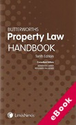 Cover of Butterworths Property Law Handbook (eBook)