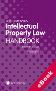 Cover of Butterworths Intellectual Property Law Handbook (eBook)