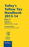 Cover of Tolley's Yellow Tax Handbook 2013-14