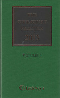 Cover of The Civil Court Practice 2013 with eBook: The Green Book