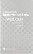 Cover of Butterworths Insurance Law Handbook