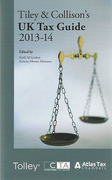 Cover of Tiley & Collison's: UK Tax Guide 2013-14