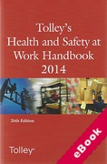 Cover of Tolley's Health and Safety at Work Handbook 2014 (eBook)