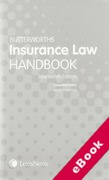 Cover of Butterworths Insurance Law Handbook (eBook)