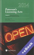 Cover of Paterson's Licensing Acts 2014 (Book & eBook Pack)