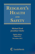 Cover of Redgrave's Health and Safety 8th ed: 1st Supplement