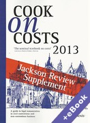 Cover of Cook on Costs 2013: Jackson Review Supplement  (Book & eBook Pack)