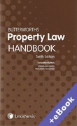 Cover of Butterworths Property Law Handbook (Book & eBook Pack)