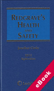 Cover of Redgrave's Health and Safety 8th ed with 2nd Supplement (eBook)