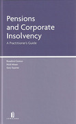 Cover of Pensions and Corporate Insolvency: A Practitioner's Guide