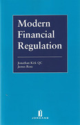 Cover of Modern Financial Regulation