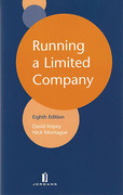 Cover of Running a Limited Company