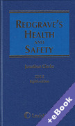 Cover of Redgrave's Health and Safety 8th ed with 2nd Supplement (Book & eBook Pack)