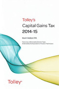 Cover of Tolley's Capital Gains Tax 2014-15