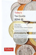 Cover of Tolley's Tax Guide 2014-15