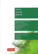 Cover of Tolley's Taxwise 2014-15: Part 1
