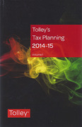 Cover of Tolley's Tax Planning 2014-15