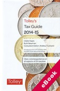 Cover of Tolley's Tax Guide 2014-15 (eBook)