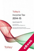 Cover of Tolley's Income Tax 2014-15 (eBook)