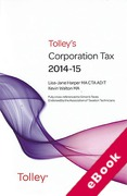 Cover of Tolley's Corporation Tax 2014-15 (eBook)