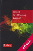 Cover of Tolley's Tax Planning 2014-15 (eBook)