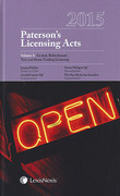Cover of Paterson's Licensing Acts 2015