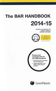 Cover of The Bar Handbook 2014-2015