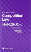 Cover of Butterworths Competition Law Handbook 2014