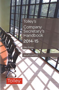 Cover of Tolley's Company Secretary's Handbook 2014-15