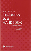 Cover of Butterworths Insolvency Law Handbook 16th ed: 2014