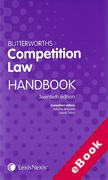 Cover of Butterworths Competition Law Handbook 2014 (eBook)