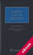 Cover of Paget's Law of Banking (eBook)