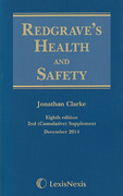 Cover of Redgrave's Health and Safety 8th ed: 2nd Supplement