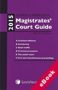 Cover of Anthony and Berryman's Magistrates Court Guide: 2015 (eBook)