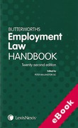 Cover of Butterworths Employment Law Handbook 2014 (eBook)