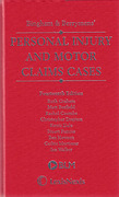 Cover of Bingham & Berryman's Personal Injury and Motor Claims Cases 14th ed