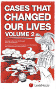 Cover of Cases That Changed Our Lives: Volume 2