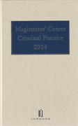 Cover of Magistrates' Courts Criminal Practice 2014