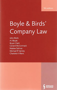 Cover of Boyle and Birds' Company Law