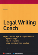 Cover of Legal Writing Coach